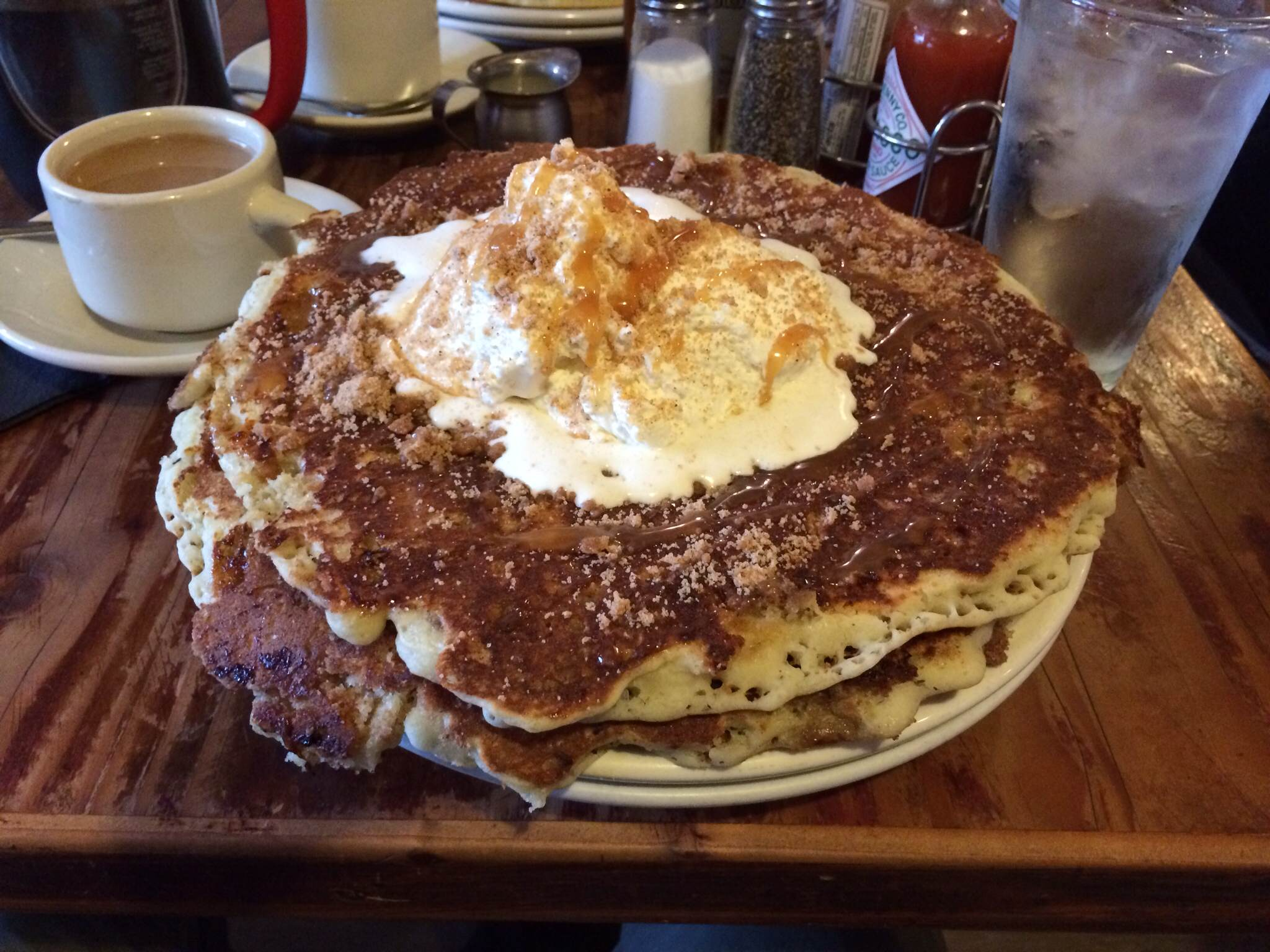 It S Hard For Me To Fairly The Griddle Cafe Because I Don T Think Went In With Right Mindset We Were Sort Of A Rush
