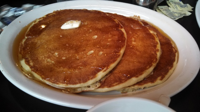 CityLimits pancake with syrup